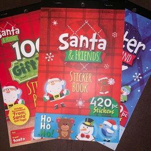 Other - Set of 3 holiday tags and stickers